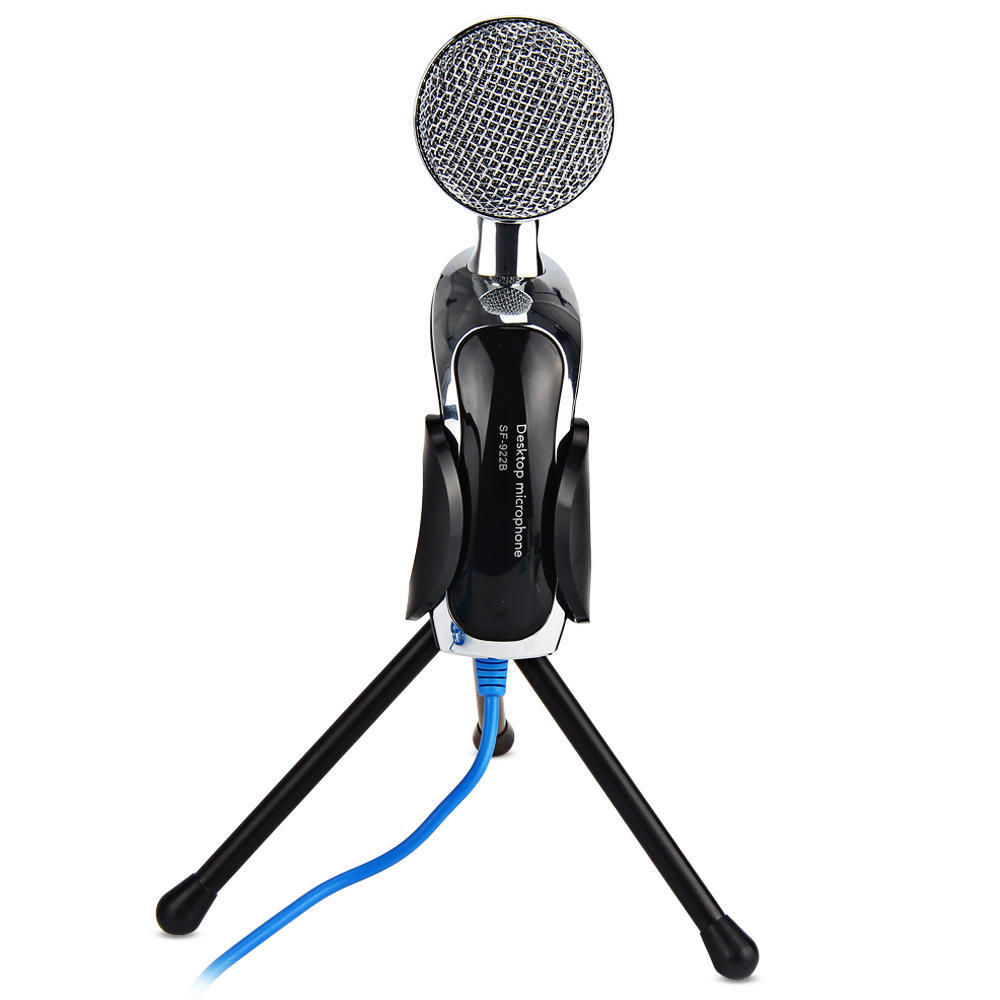 Sf 922b Professional Sound Usb Condenser Microphone Podcast Studio Gaming Recording Bm700 Mic For Pc Laptop Komputer 1 Of 8