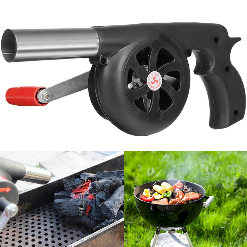 Fireplace Bellows Large Wood Air Blower Manual Tool Outdoor Camping Barbecue