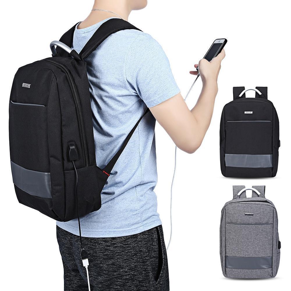 KY-Z порт USB заряда бизнес рюкзак ноутбук сумка – купить по низким ценам в интернет-магазине Joom