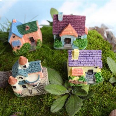 Flower Fairy Micro Landscape Gardening Ornaments DIY Fairy Mini Dollhouse Family