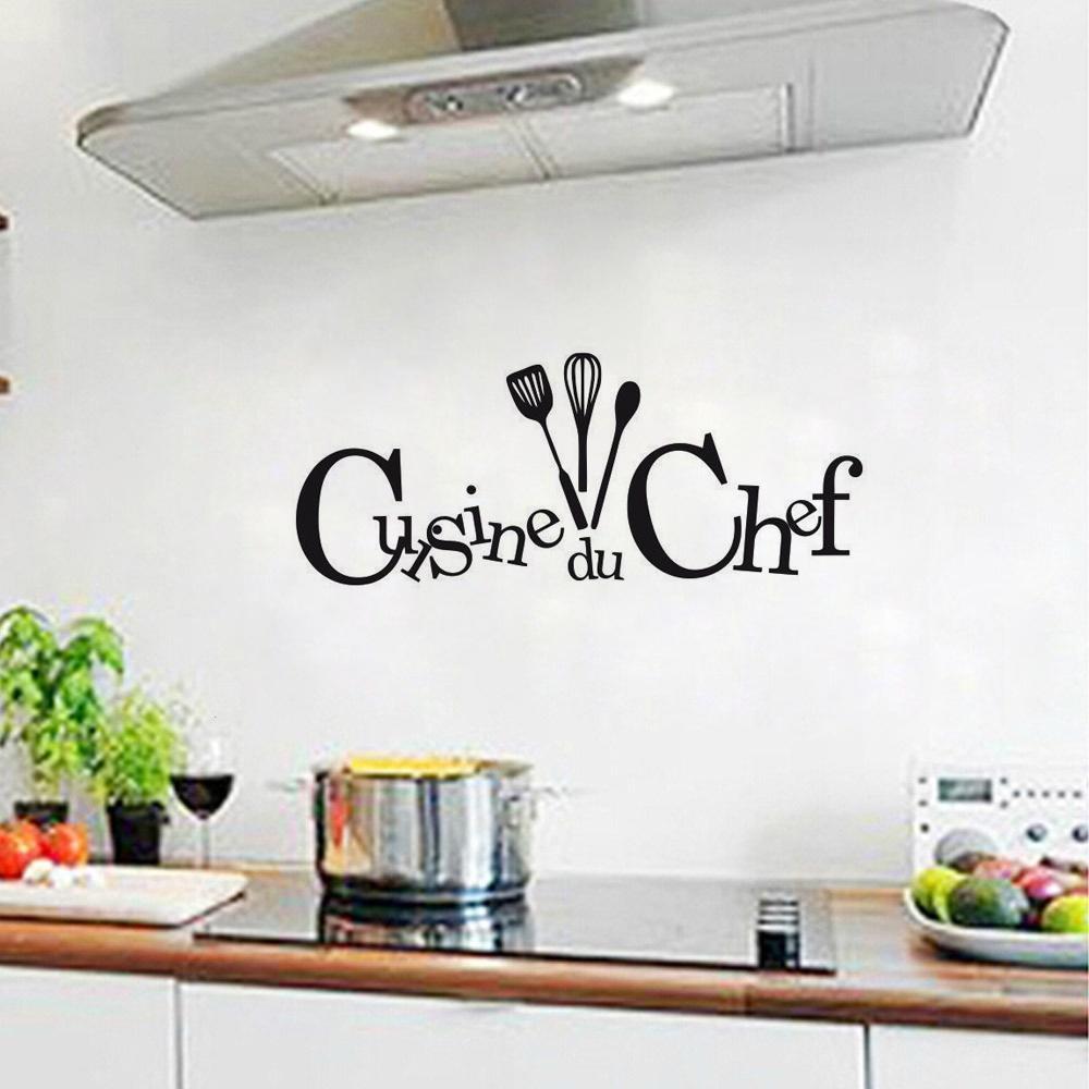 Küche Du Chef Kunst Home Dekoration abnehmbare Wand Aufkleber PVC ...