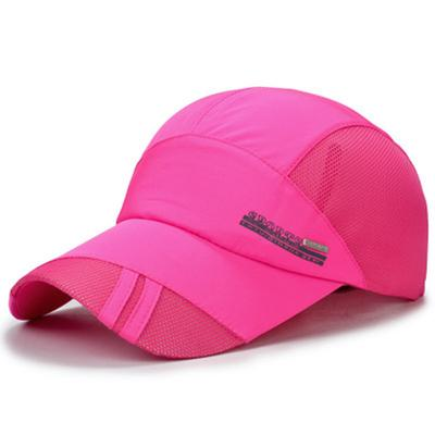 ca857ccdca4 Women s and Men s Summer Casual Sports Hat Cap Hip Hop Snapback Hats Quick  Dry Baseball Caps