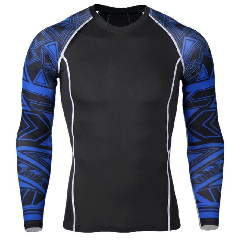 17ffb828ed Formación compresión ajustada de manga larga camisas - comprar a ...