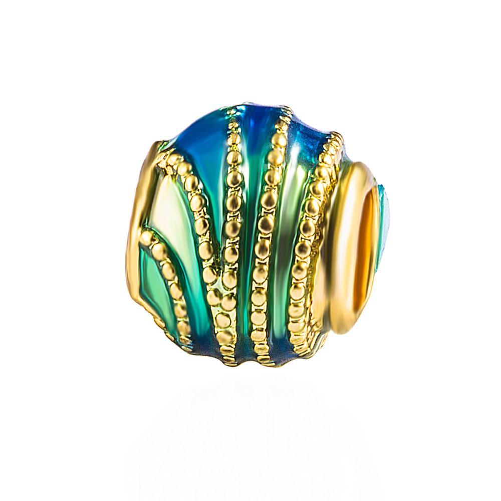 100x Large Hole European 11mm Alloy Rhinestone Rondelle Beads DIY Charm Necklace