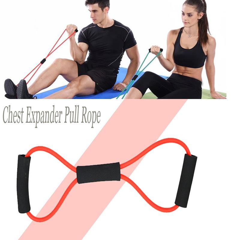 Yoga Pull Rope Workout Fitness Yoga Exercise Rally Stretch Exercise Expander