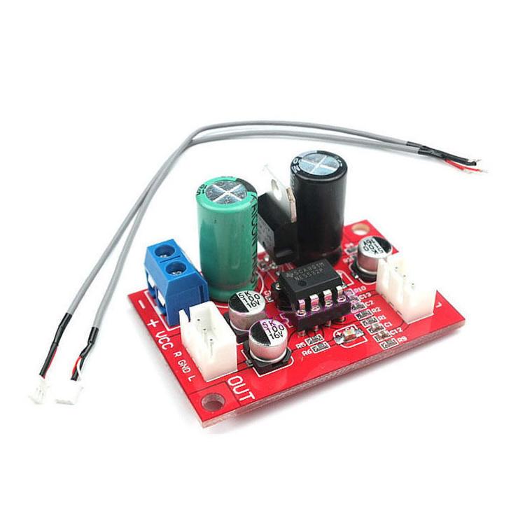 NE5532 Dynamisches Mikrofon Stereo-Vorverstärker Verstärker Board + ...