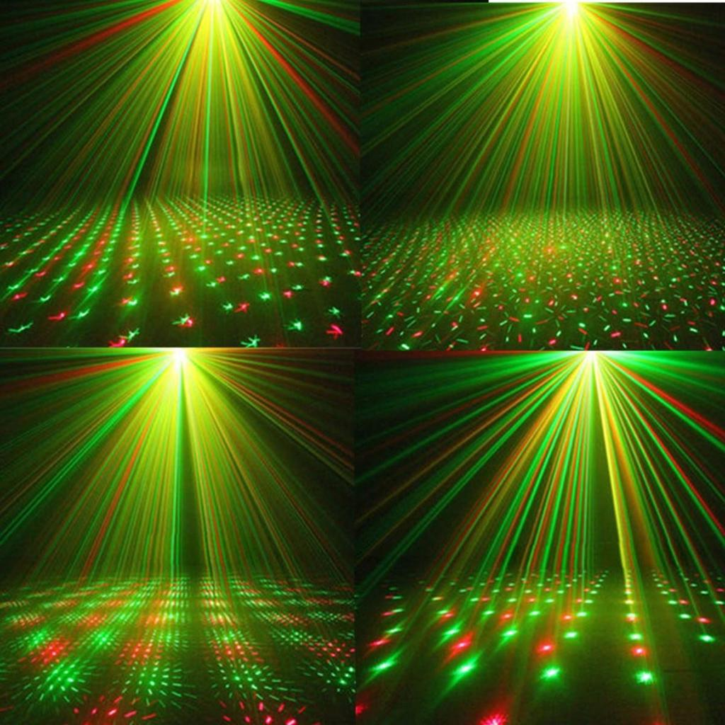 Mini Rg Auto Voice Xmas Dj Disco Party Led Laser Stage Light Lamp Multicolor Projector Ampamp Tripod Blue 1 Of 11