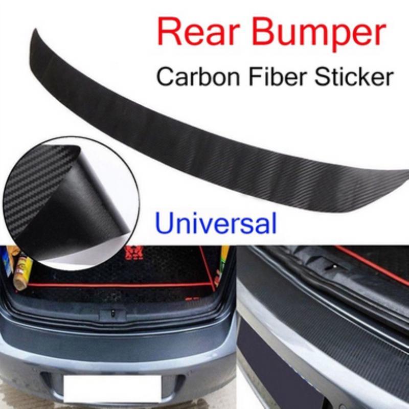 1M Self-Adhesive Car Rear Bumper Protector Sticky Sticker Decal Strip Protective