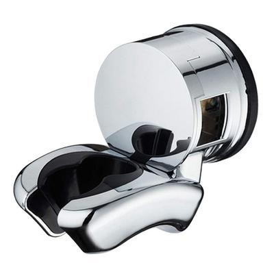 Bathroom Chrome Adjustable Wall Mount Hand Shower Head Bracket Clamp Holder