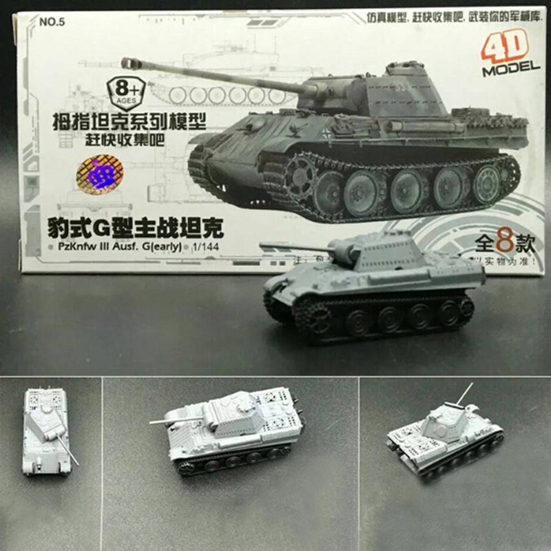 8pcs Установить Пластиковые 4D Собранный танк модель 1:144 Большой палец танк военная модель игрушка – купить по низким ценам в интернет-магазине Joom