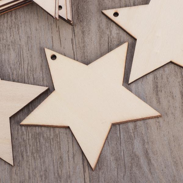 20mm misti in legno artigianale FORME MDF forme Decorazione Scrapbook Abbellimenti