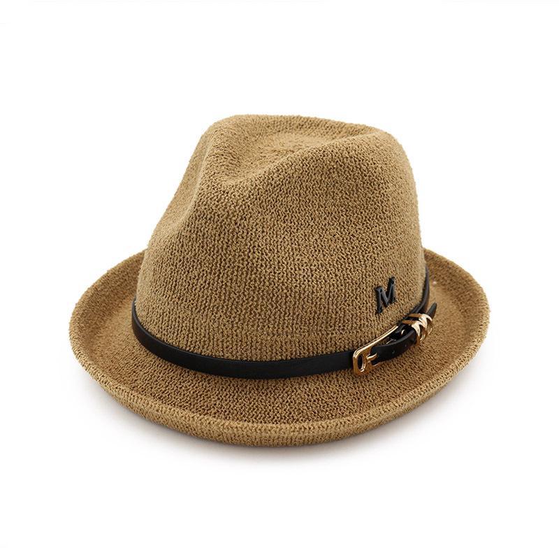 Inglaterra las mujeres Fedora sombrero sol protección tapa borde ... 4db56d36599