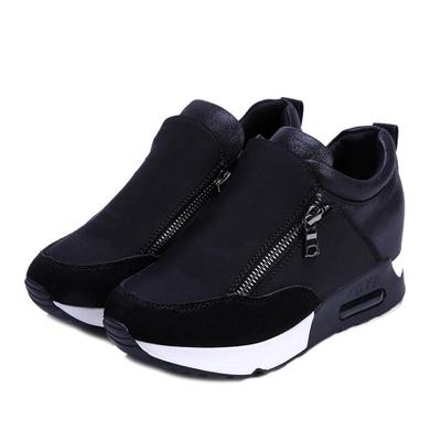 ce641b46e9b1 Plus Size 35-42 Women Casual Platform Shoes sport Shoes Wedges Loafers Height  Increasing Sneakers
