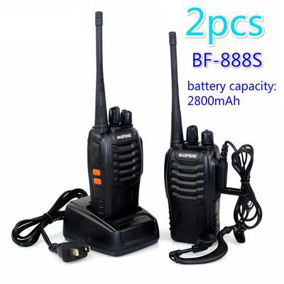 Dual Band Antenna Speaker Mic Shoulder FHRG For Baofeng UV5R BF-F8HP UV5RE PLUS