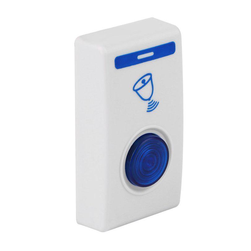 Portable Wireless Door Bell Doorbell 32 Chimes 100M Range Cordless Digital Home