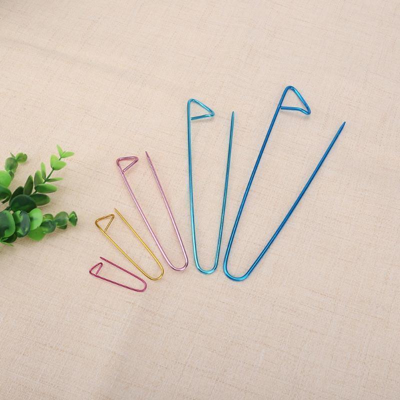 55Pcs double pointe en bambou Aiguilles à tricoter Pull GANT Knit Tool Set Utile