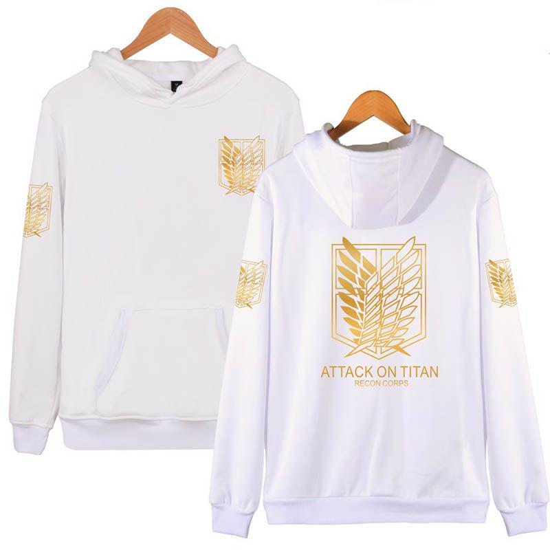 Black Gold Attack On Titan Cosplay Hoodie Scouting Legion Hooded Sweater