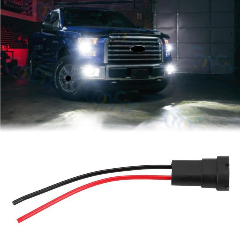 5pcs Automotive 9005 Male Connector Plug for Headlight DRL Lamp Bulb