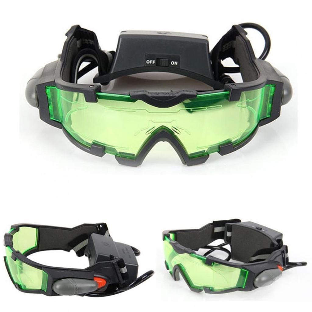 Auge schützende verstellbaren Gummiband Nachtsichtgerät Brille ...