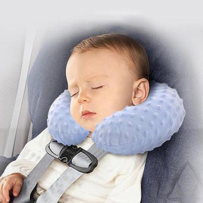 Blue Child Car Seat Adjustable Head Support Sleep Tape Safety Nap Child Aid Kid Holder Protector A Comfortable Safe Sleep Belt Solution