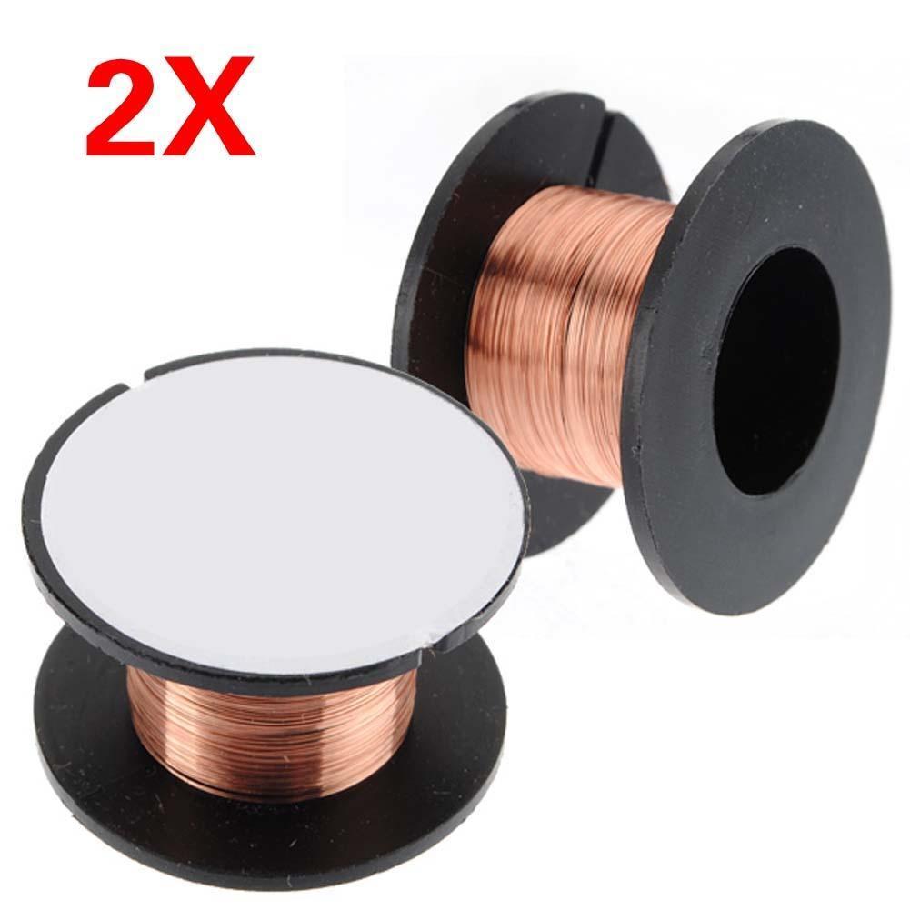 2pcs 0,1 mm Kupfer Löten Löten PPA Reparatur emailliert Reel Weld ...