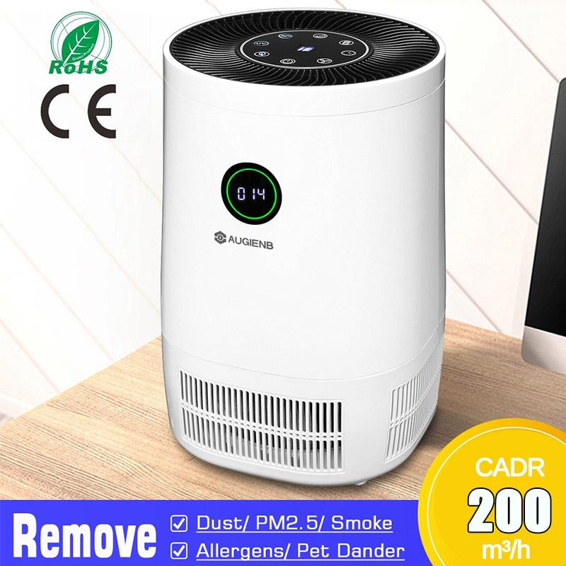 3 Colors Air Purifier Ozone Generator Mini Portable Air Cleaner Pet Odors Smoke