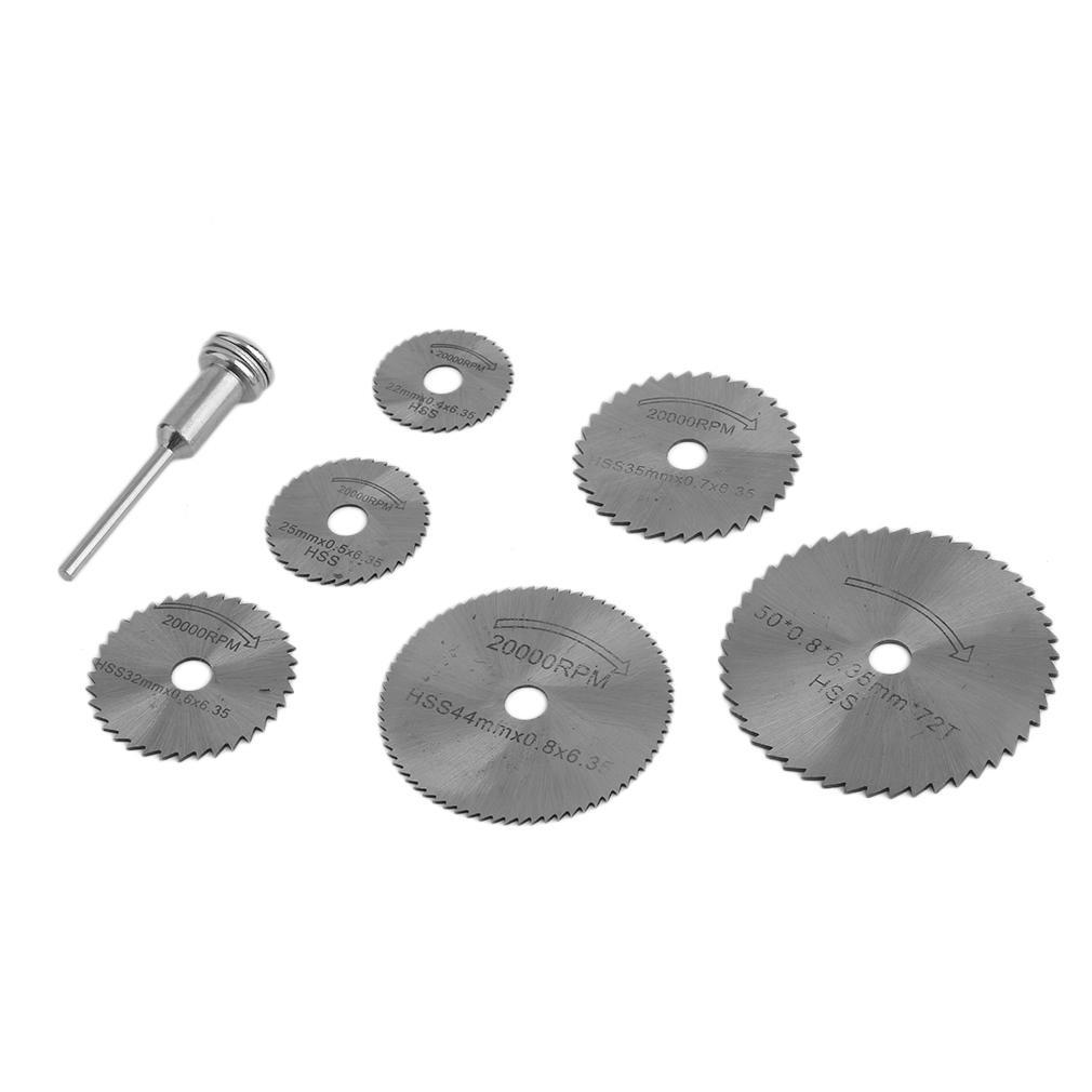 Scie Circulaire Disque Set Dremel Mini Perceuse Outil Rotatif Lame de coupe Accessoires Wel