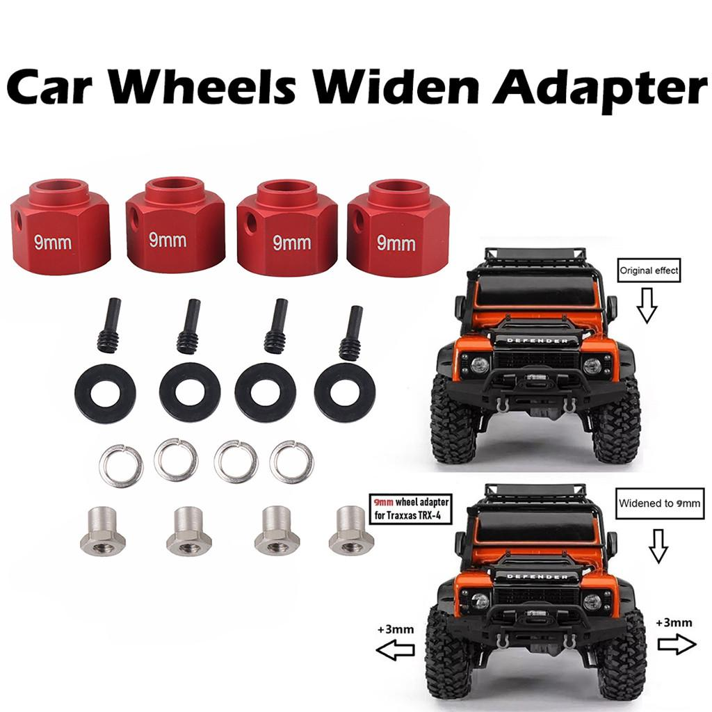 Black Alloy Front Shock Tower for Axial 1//10 TRX4 Red