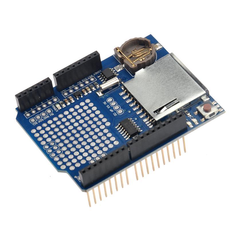 USA Logging Recorder Data Logger Module Shield V1.0 for Arduino UNO SD Card
