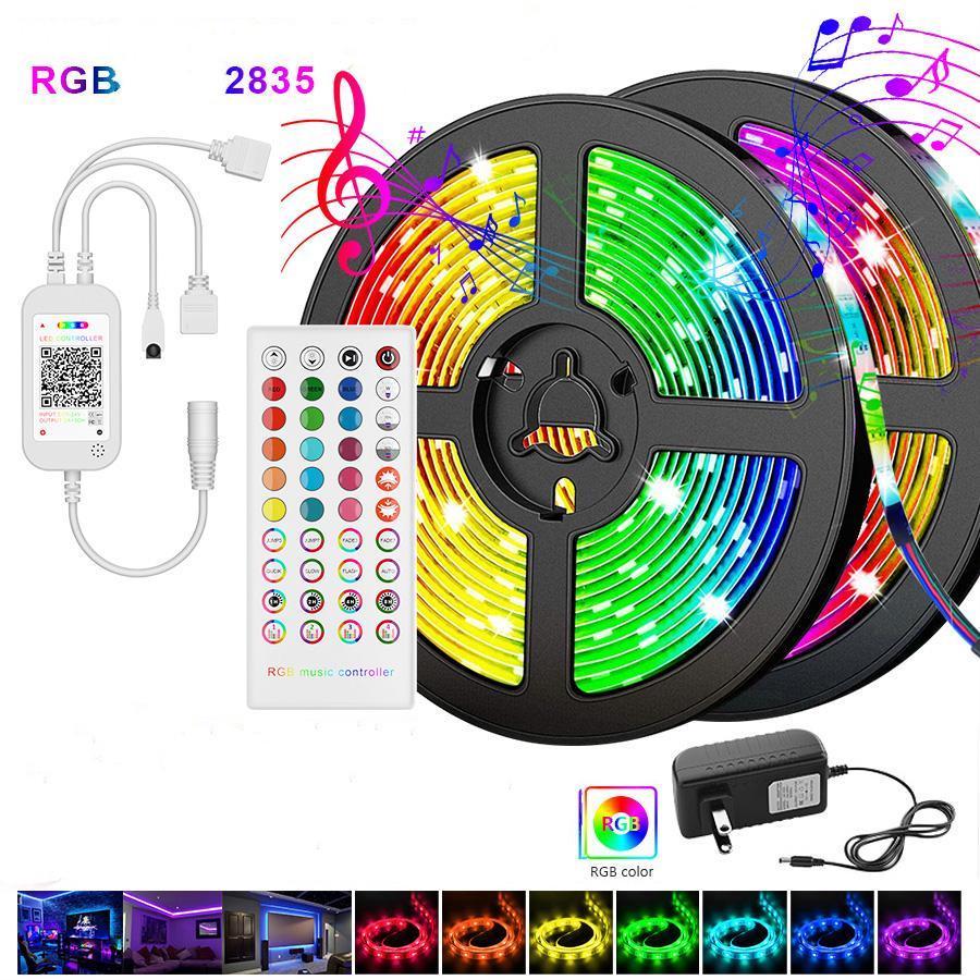 Control /& Accessories 5M 10M Waterproof 3528 5050 Single Color RGB LED Light R