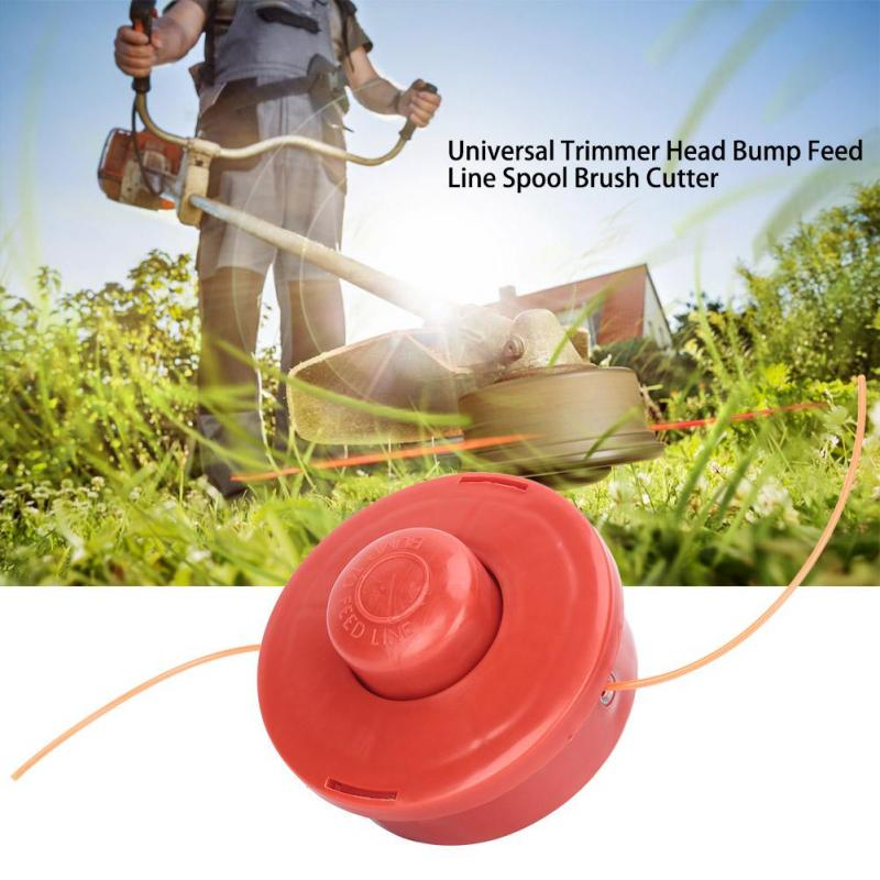 Universal Trimmer Head Weed Bump Feed Line Spool Head Made in the USA