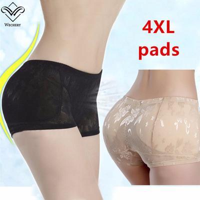 b130ce75e32e Women Buttock Brief Underwear Seamless Shapewear Hip Up Padded Butt  Enhancer Panties Body Shaper