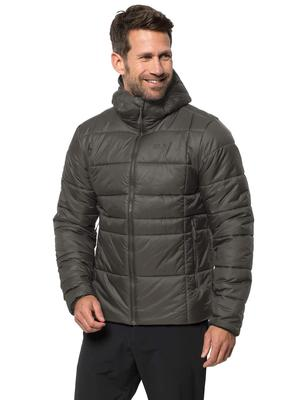 Regatta Men/'s Orton Hooded Baffle Jacket Green