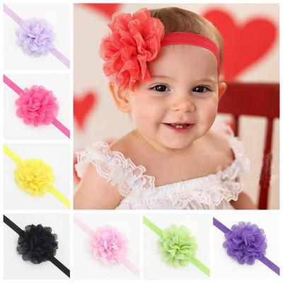 be7e84ab3f0a 10 Pcs Girl Kids Baby Cute Lace Flower Headband Hair Band Headwear Toddler  Accessories