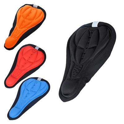 Wider Bike Bicycle Silicone Silica Gel Cushion Comfort Padding Saddle Seat Cover