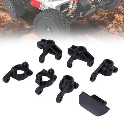 6Pcs 1//14 RC Front and Rear with C Hub Carrier for WLtoys 144001 Upgrade Parts