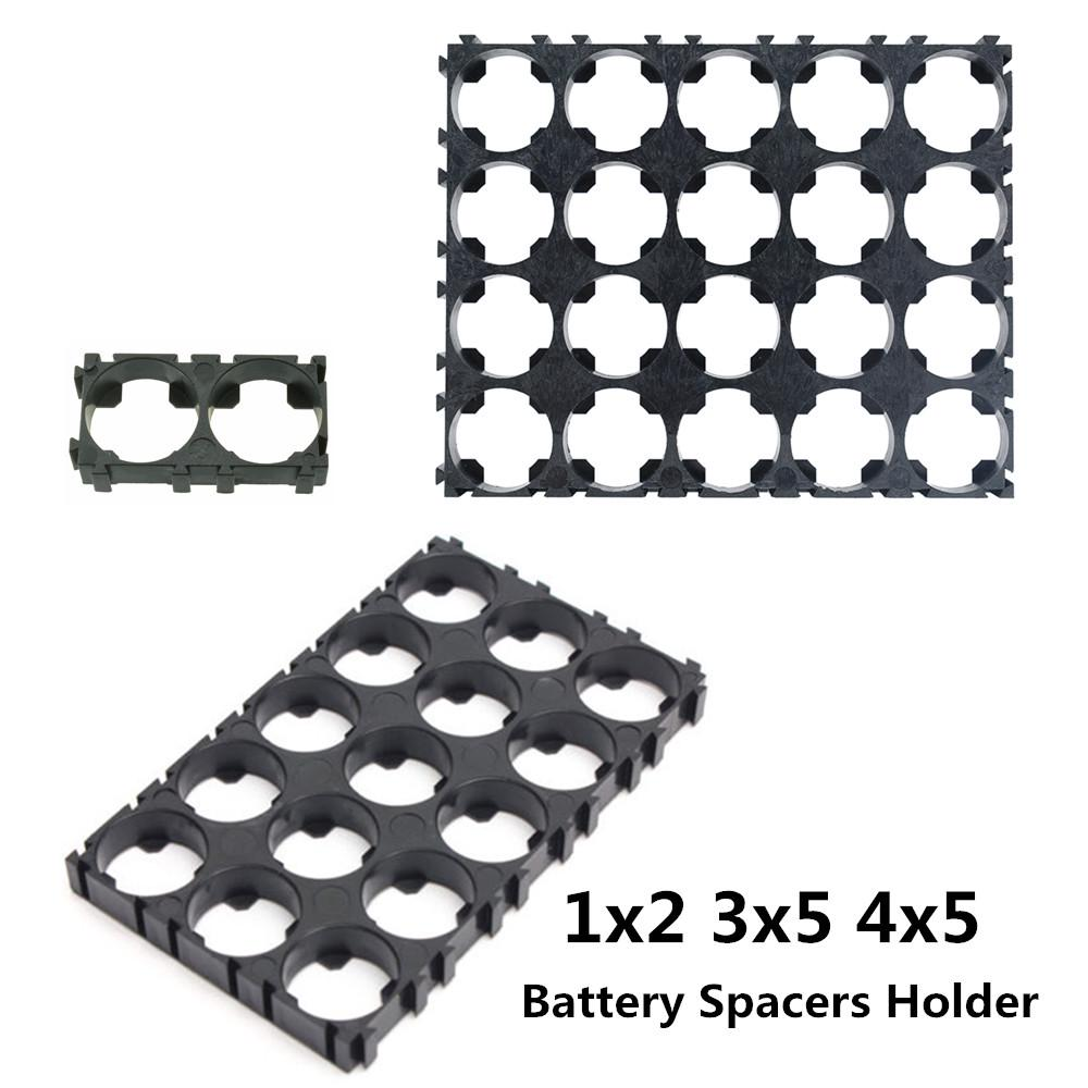 1//2//10× 18650 Battery 1x2 3x5 3x6 4x5 Cell Spacer Shell Pack Plastic Heat Holder