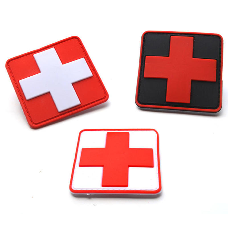 4 Colors Patch The Medical Rescue Of The Red Cross Morale Badges Outdoor Product