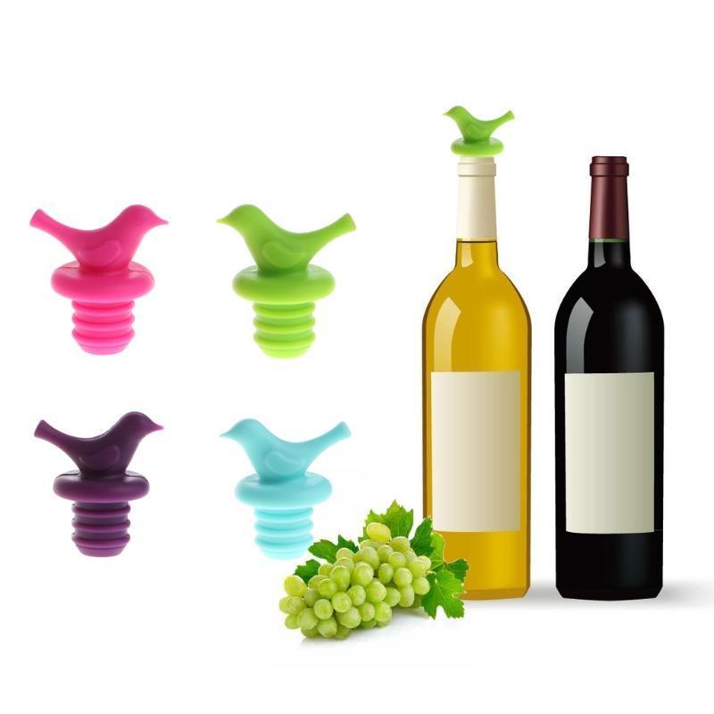 1 Pcs Hat Silicone Vacuum Bottle Stoper Liquor Outlet Wine Stop Bottle