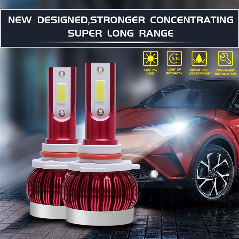 9006 6000K White Headlamp 1500W 225000LM  Auto Bulb Car Headlight Kit DOB LED