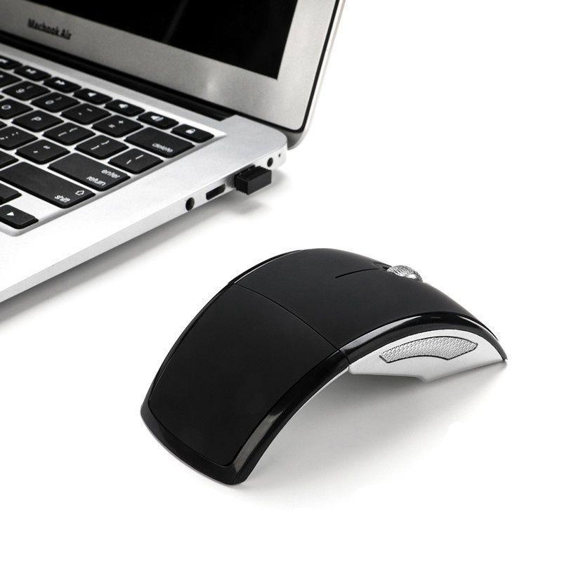 2.4 G беспроводная мышь складной компьютерной мыши мини-путешествия Ноутбук отключения USB приемник беспроводная мышь фото