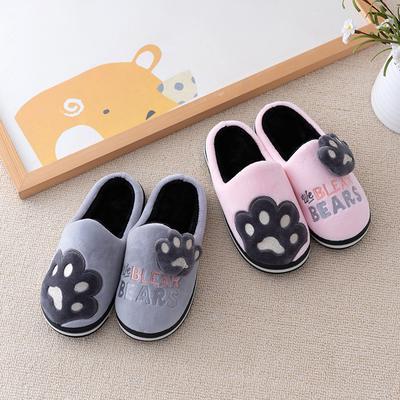 Cotton Slipper,Creative Skull PatternSlippers Indoor Sandals Shoes Flat Winter Sleeppers