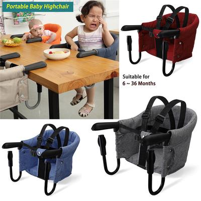 Portable Baby Highchair Foldable Feeding Chair Seat Booster Safety