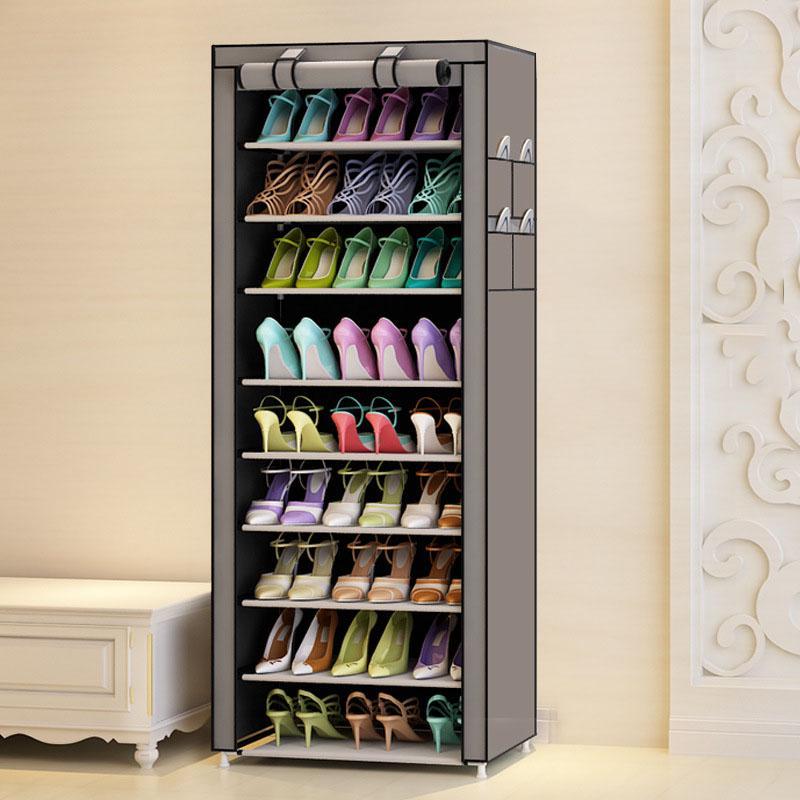 Обустройство дома Пылезащитная стойка для обуви большой емкости (Фото 1)