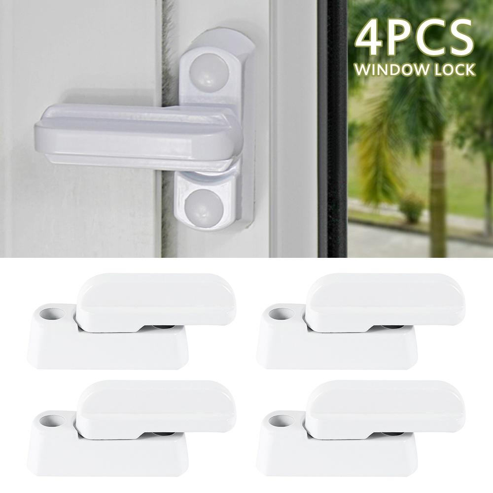 4pcs Sash Blocker Jammer UPVC LOCKS FOR HOME OFFICE WINDOW DOOR SECUR