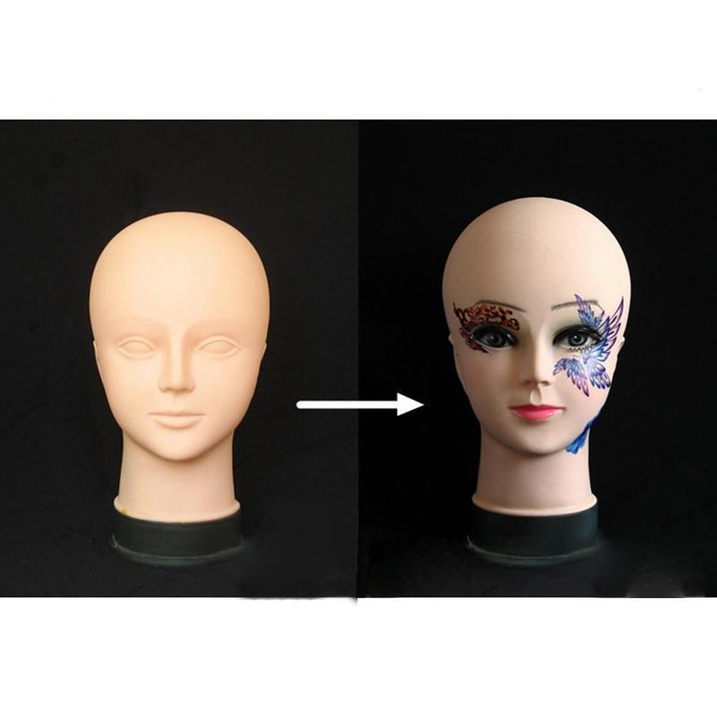 1Pcs Mannequin Practice Head Make-up Auge stehen weibliche Acupoint ...