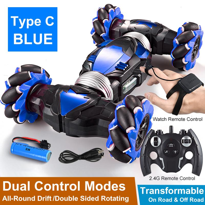 RC Stunt Car 4WD Gesture Remote Control 360° All-Terrain Transformable Off Road