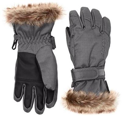 Ziener LED Mitten Girls Glove Junior Moufle de Ski Fille