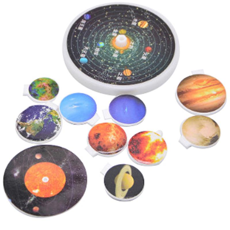 Kid/'s Educational Toy Explore Nine Planets in Solar System Teaching Toys GiU ^p