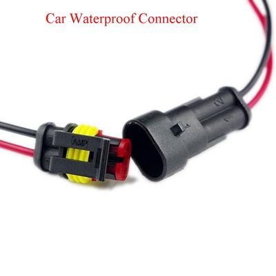 5 pcs//Set 2 Pin Way Car Auto Waterproof Electrical Male Female Connector Plug with Wire AWG Marine Accessory